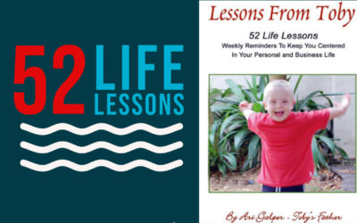 Toby's New Book! 52 Life Lessons