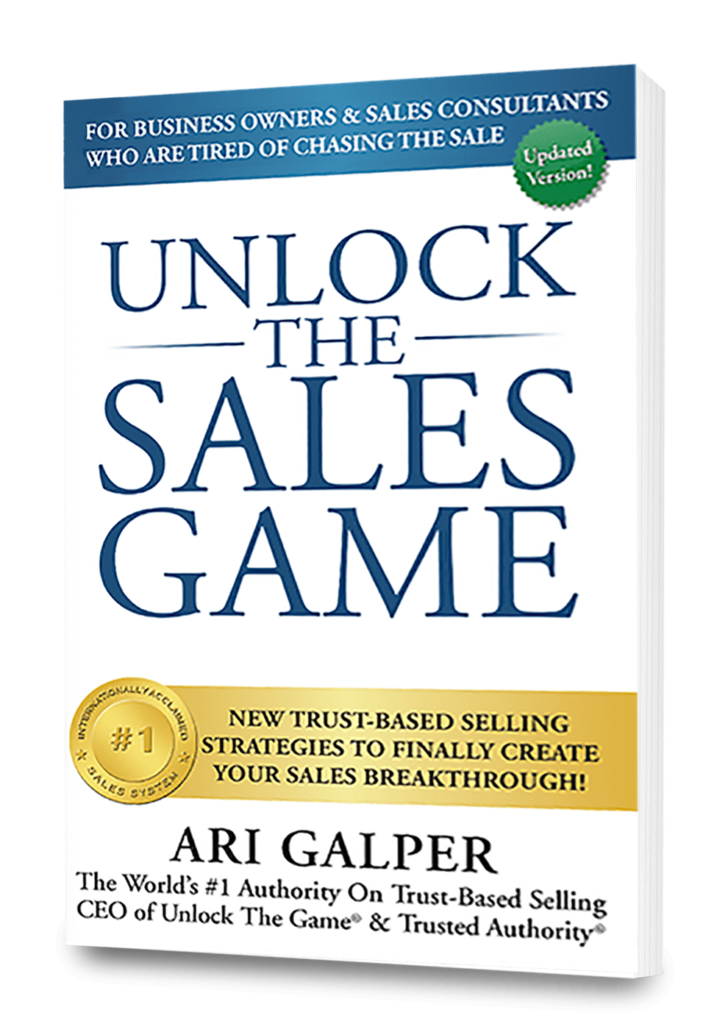 Unlock The Sales Game Book